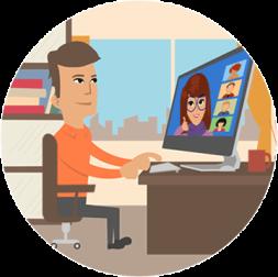 live online leren